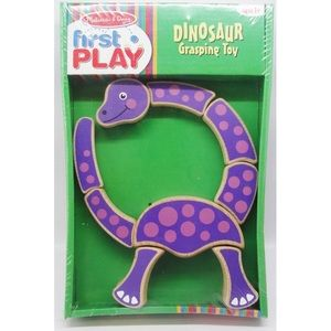 NWT - Melissa and Doug Dinosaur Grasping Toy